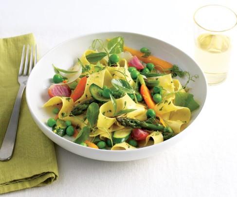 spring vegetable pasta
